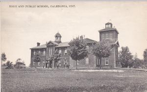 High School , CALEDONIA , Ontario , Canada , 00-10s