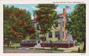 Abraham Lincolns Home Springfield Illinois