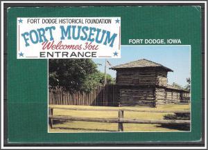 Iowa Fort Dodge Fort Museum - [IA-030X]