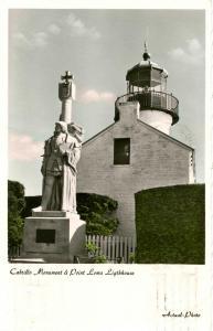 CA - Point Loma Lighthouse, Cabrillo Monument    *RPPC