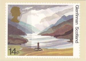 Stamps National Trusts Glenfinnan Scotland House of Questa London England