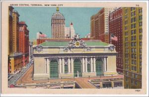 NY - New York City. Grand Central Station
