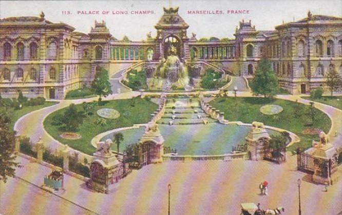 France Marseilles Palace Of Long Champs