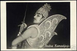 indonesia, INDRA KAMADJOJO Wayang Wong Dancer Actor RP
