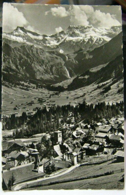 Switzerland Adelboden Steghorn Wildstrubel - posted 1952