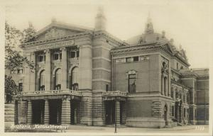 norway norge, KRISTIANIA, Nationaltheatret, Theater (1910s) RPPC
