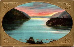 New York VIew From Hudson River From West Point 1909