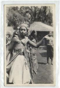 indonesia, BALI, Legong Dancer Native Girl (1920s) RPPC