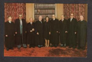 Supreme Court Judge Sandra Day Oconnor Judges President Ronald Reagan Postcard