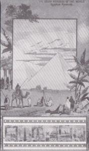 The Seven Wonders Of The World The Egyptian Pyramids