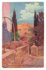 The Golden Gate From The Garden Of Gethsemane, Jerusalem, Israel, 1900-1910s