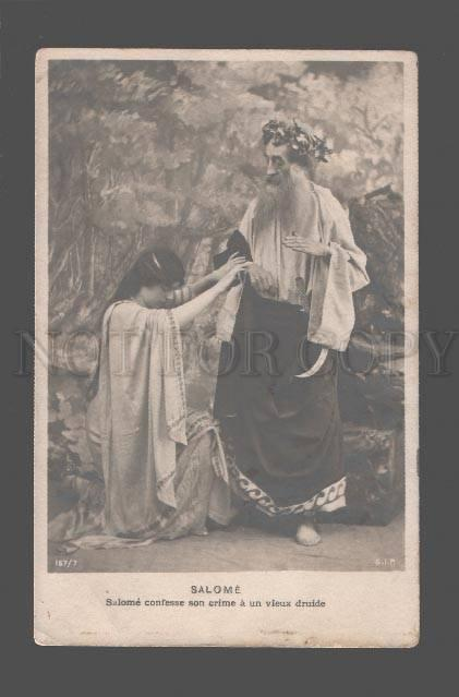 080419 SALOME Famous OPERA BALLET Stage Vintage PHOTO PC