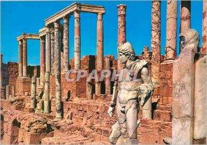 Postcard Modern Leptis Magna Leptis Magna