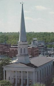 Birdseye View, The First Baptist Church, Greenvile, South Carolina, 40-60´s