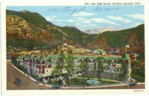 The Cliff House Manitou Springs, Colorado CO, Linen