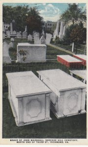 RICHMOND, Virginia , 1900-10s ; Grave of John Marshall