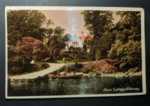 Mint Vintage Dinis Cottage Killarney Co Kerry Ireland Real Picture Postcard