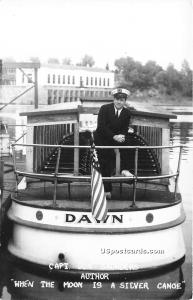 Capt Don Saunders, Author of When the Moon is a Silver Canoe