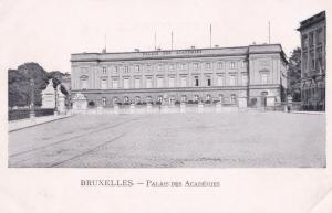 Bruxelles Palais Des Academies Postcard
