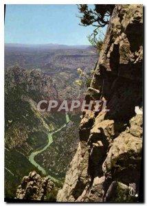 Modern Postcard Gorges of Verdon High Provence