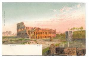 Italy Roma Colosseo Colosseum Vtg Stengel UDB Postcard