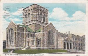 First Methodist Episcopal Church, BRADFORD, Pennsylvania, PU-1936