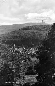 Luftkurort Schmitten im Taunus Village Panorama 1958