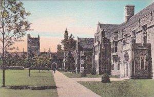 North Carolina Durham Crowell Tower Kilgo House And The Union Duke University...