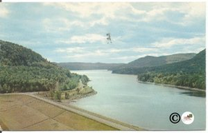 Conklingville Dam and Sacandaga Reservoir Adirondack State Park New York Vintage
