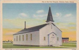 Illinois Chicago Chanute Field One Of The Post Chapels