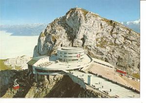 Postal 032409 : Pilatus-Kulm Hotel bellevue Zhanradbahn Alpnachstad-Pilatus