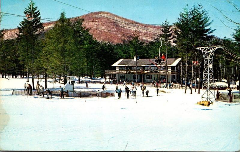 Massachusetts Berkshires Base Lodge Of Thunder Mountain Ski Area