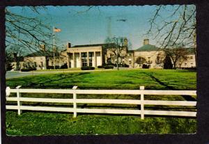 DE Club House DuPont Du Pont Country Club Wilmington Delaware Postcard
