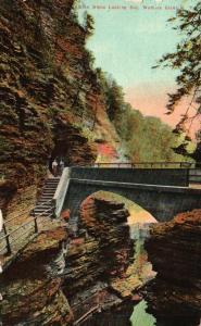 Watkins Glen, New York, NY, Glen Alpha Looking Out, 1911 Vintage Postcard f8274