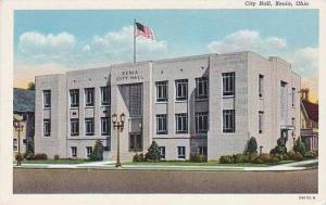 Ohio Xenia City Hall Curteich