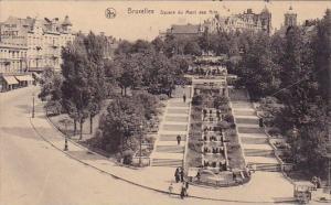 Belgium Brussells Square Du Mont Des Arts 1925