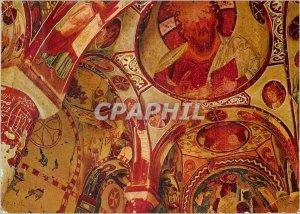 Postcard Modern Primitive Decoration of the Church of St. Barbara