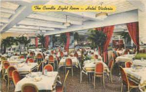 New York City~Hotel Victoria~Candle Light Room~Alluring Music 1948 Linen