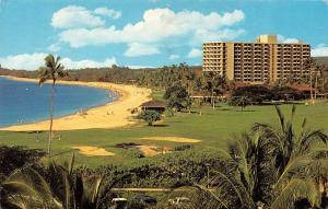 MAUI, HI Hawaii  ROYAL LAHAINA HOTEL~Royal Kaanapali Golf Course Chrome Postcard