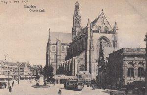 HAARLEM, Noord-Holland, Netherlands, 1900-1910's; Groote Kerk