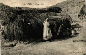 CPA AK Arzew Village Negre ALGERIE (749123)