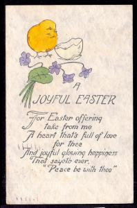 A Joyful Easter,Chick,Flowers