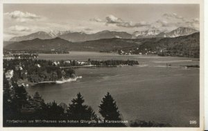 Austria Postcard - Portschach Am Worthersee Vom Hohen Gloriette Mit - Ref TZ7646