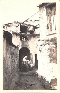 Italy Old Vintage Antique Post Card Galifif Crupi Real Photo Unused