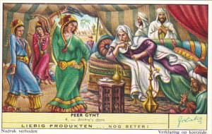 Liebig Trade Card s1733 Peer Gynt No 4 Anitra's dans