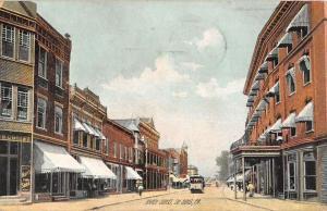 Du Bois Pennsylvania Brady Street Scene Historic Bldgs Antique Postcard K34865
