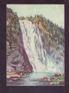 Montmorency Falls Painting Andre Morency Post Card 2912