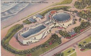 Florida Marineland Aerial View Of Marine Studios Curteich