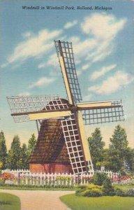 Windmill Windmill Park Holland Michigan