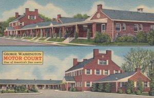 FREDERICKSBURG , Virginia , 1930s-40s ; George Washington Motor Court